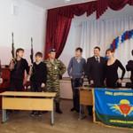 Вольф Алексей, Горюнов Виталий, Пожарный Виталий, Гордеева Лена приняли участие в сбоке и разборке автомата.