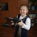 Красноселова Настя 1 б. Девочкам тоже было интересно.