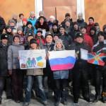 7-е классы Лицея и сотрудники ОВО г. Каменска-Уральского