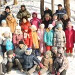 """Зарница 1""""н"""" класса с родителями, кл.рук. Степанова Е.В."""