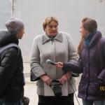 Дробышева Л.И. с репортерами Рим ТВ