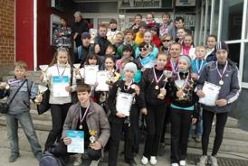 Победители эстафеты 29.04.2012 года
