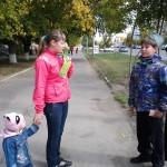 Особое внимание уделяли пешеходам с детьми